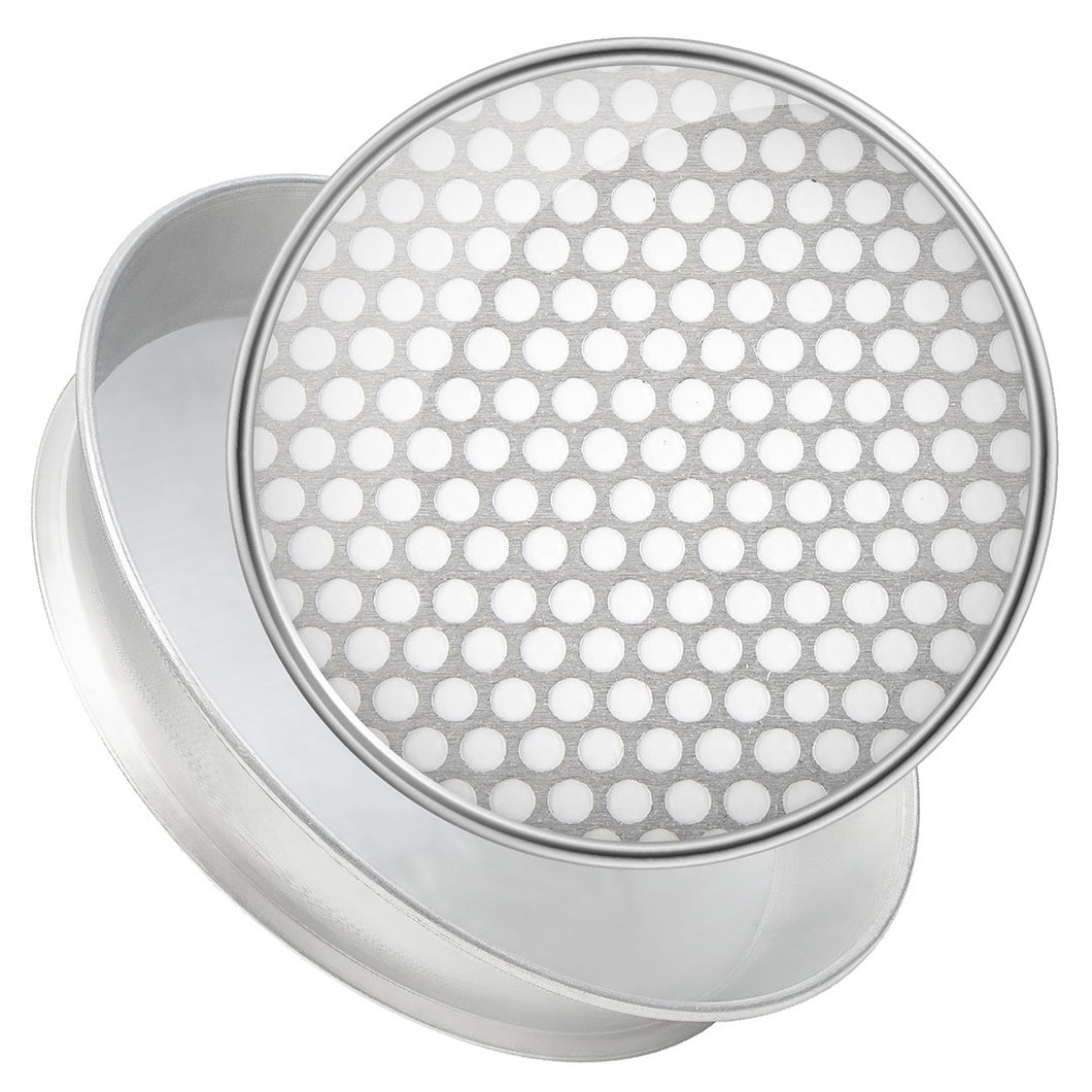 Special Perforation Sieves - Round Inch and Millimeter - Steel