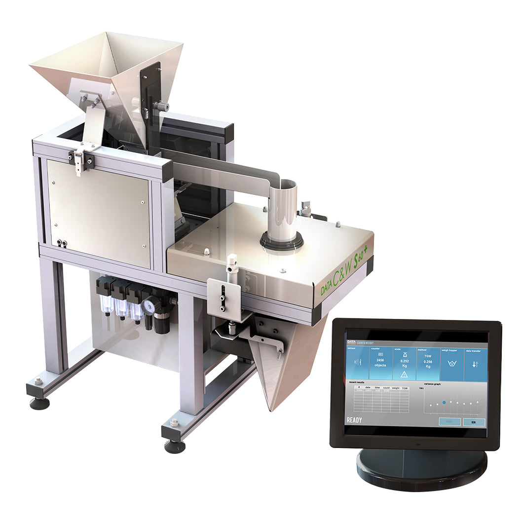 Data Technologies S60 C&W Seed Counter and Weighing