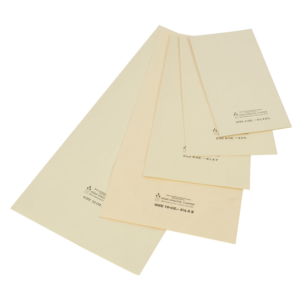 Sample Envelopes