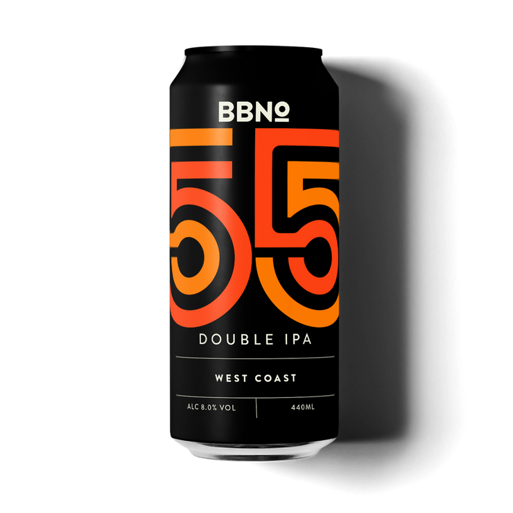 55 Double IPA – West Coast
