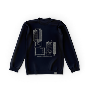 Whirlpool Sweater (Navy), April 2018 Edition