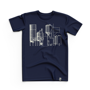 Kit T-Shirt (Navy), April 2018 Edition