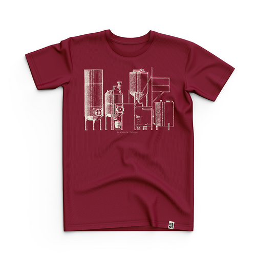 Kit T-Shirt (Maroon), April 2018 Edition