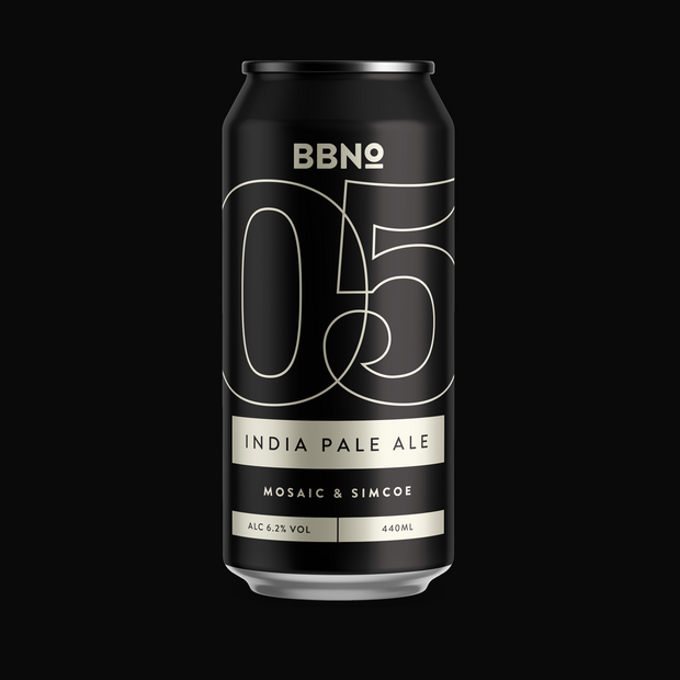 05|INDIA PALE ALE - MOSAIC & SIMCOE