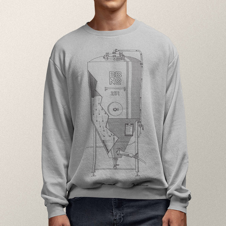 Brew Tank Sweater (Grey)