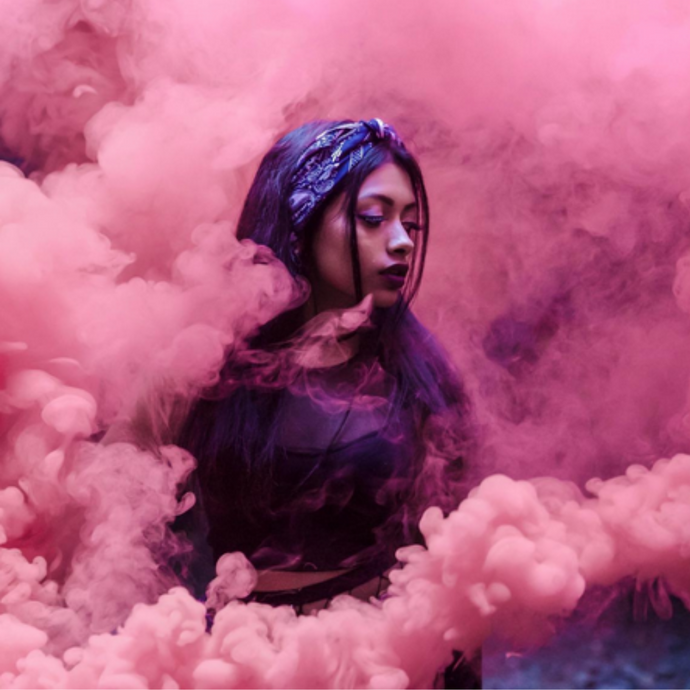 Peacock Smoke Bombs