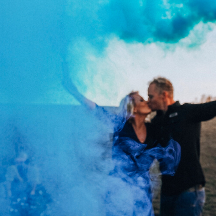 Gender Reveal Smoke Bombs