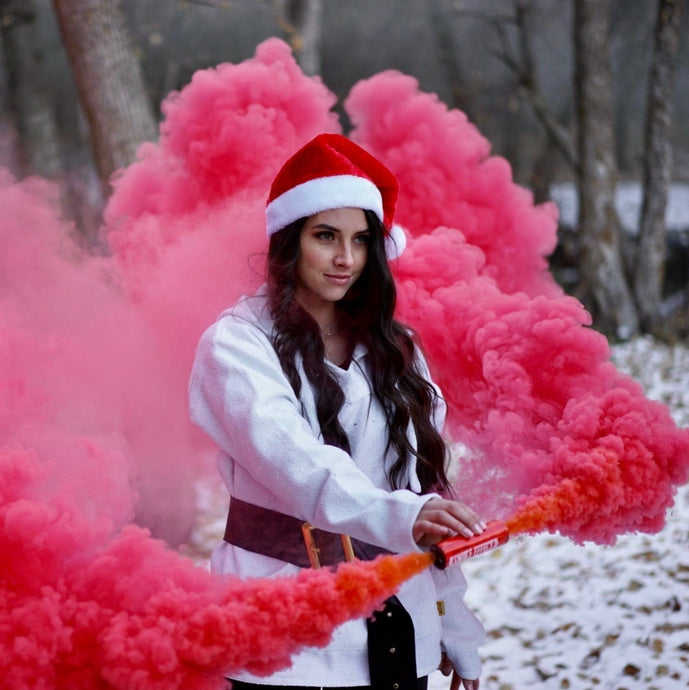 9 Great Event Ideas for Smoke Bomb Photography