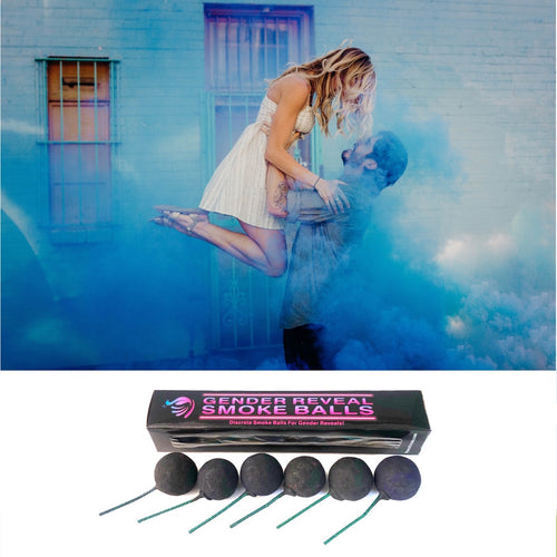 Gender reveal smoke bomb smoke grenade