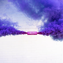 Load image into Gallery viewer, Purple dual vent colored smoke bomb paintball smoke
