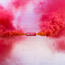 Load image into Gallery viewer, pink dual vent smoke bomb burst