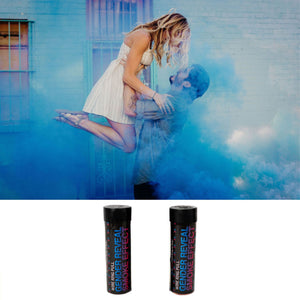 Gender Reveal Dual Vent Smoke Bomb - DISCREET