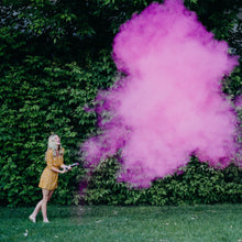 Load image into Gallery viewer, pink gender reveal powder cannons gender reveal