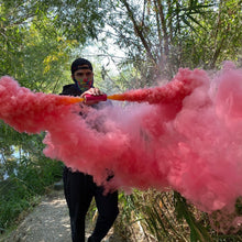 Load image into Gallery viewer, Pink Dual Vent Smoke Bomb [Rapid Release < 30 sec]