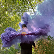 Load image into Gallery viewer, Purple Dual Vent Smoke Bomb [Rapid Release < 30 sec]