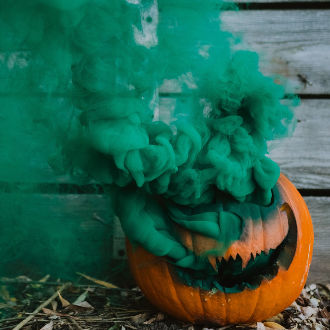 Green Mini Smoke Grenades Smoke Bombs