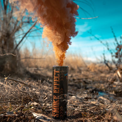 brown smoke bomb peacock smoke smoke grenade