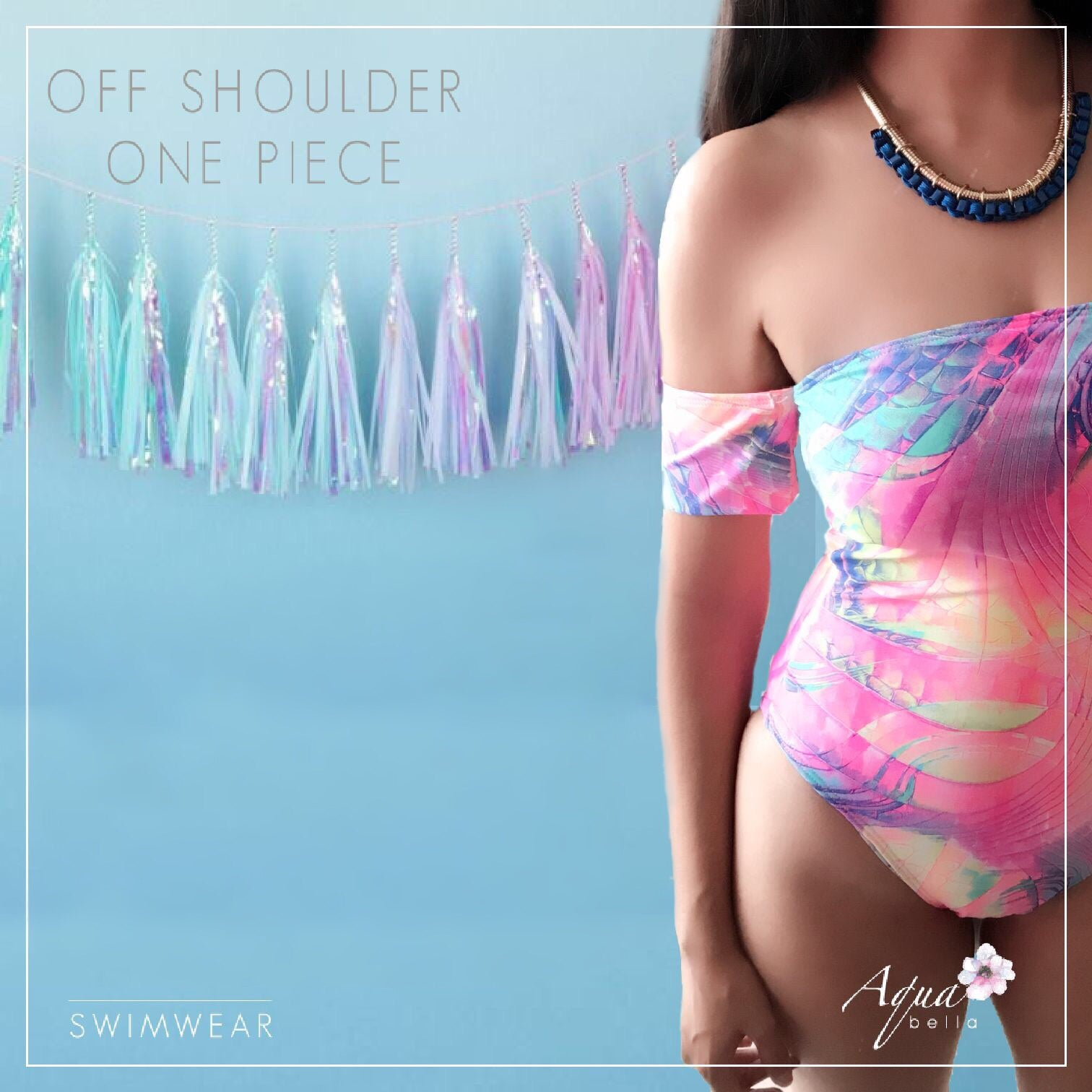 Body off shoulders - Aqua Bella