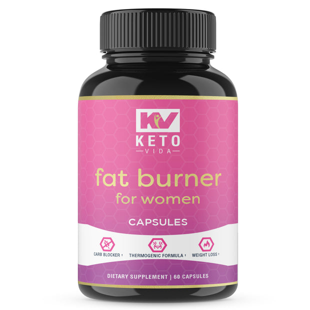 Keto Vida Fat Burner For Women