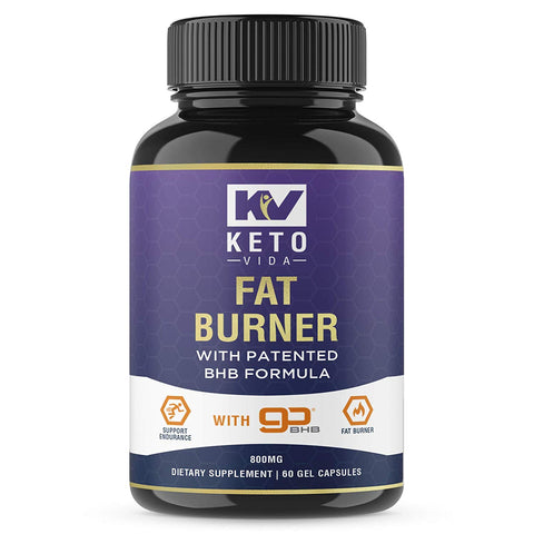 Keto Diet Fat Burner with Patented BHB