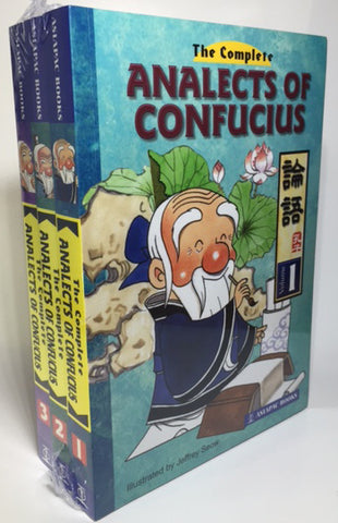 The Complete Analects of Confucius set