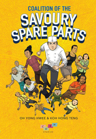 Coalition of the Savoury Spare Parts cover