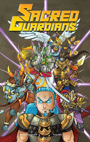 Sacred Guardians Singa comics