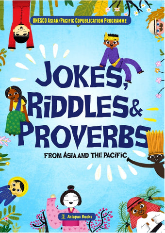 Jokes Riddles and Proverbs cover