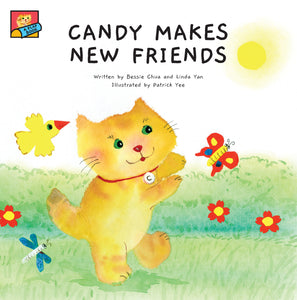 Candy makes New Friends cover