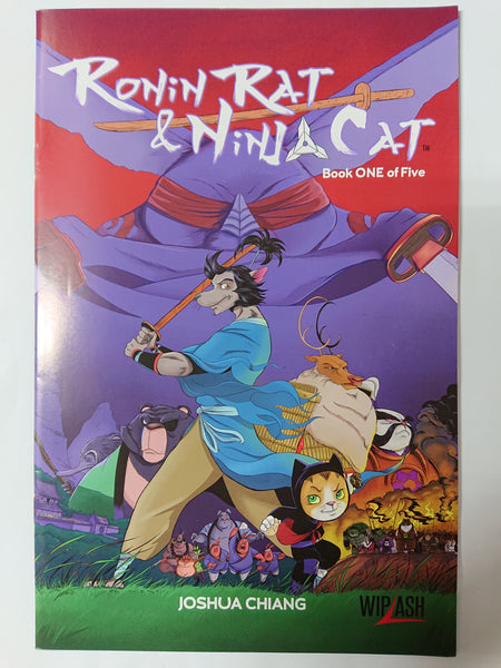 Ronin Rat & Ninja Cat (book 1 of 5)