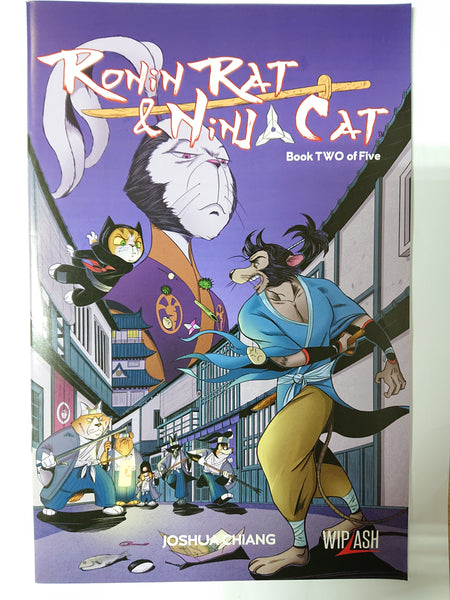 Ronin Rat & Ninja Cat (book 2 of 5)