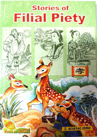 Stories of Filial Piety cover