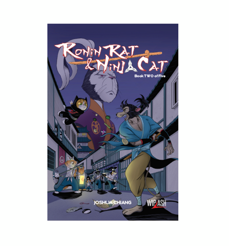 Ronin Rat & Ninja Cat cover 2