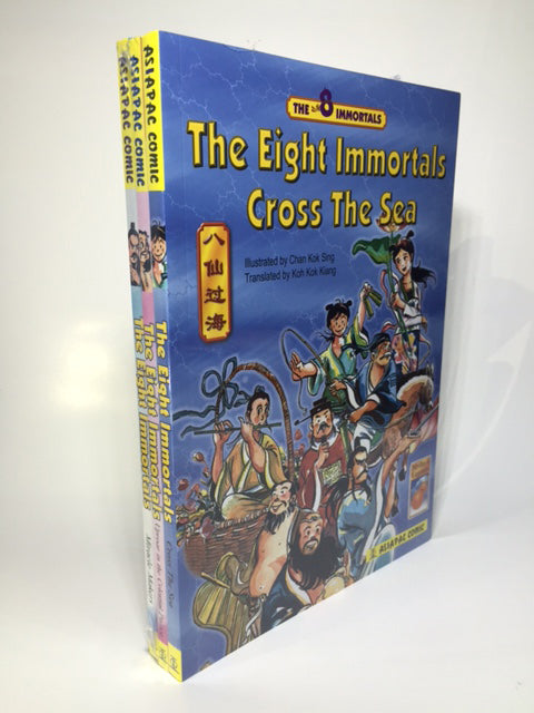 The Eight Immortals 3 books set