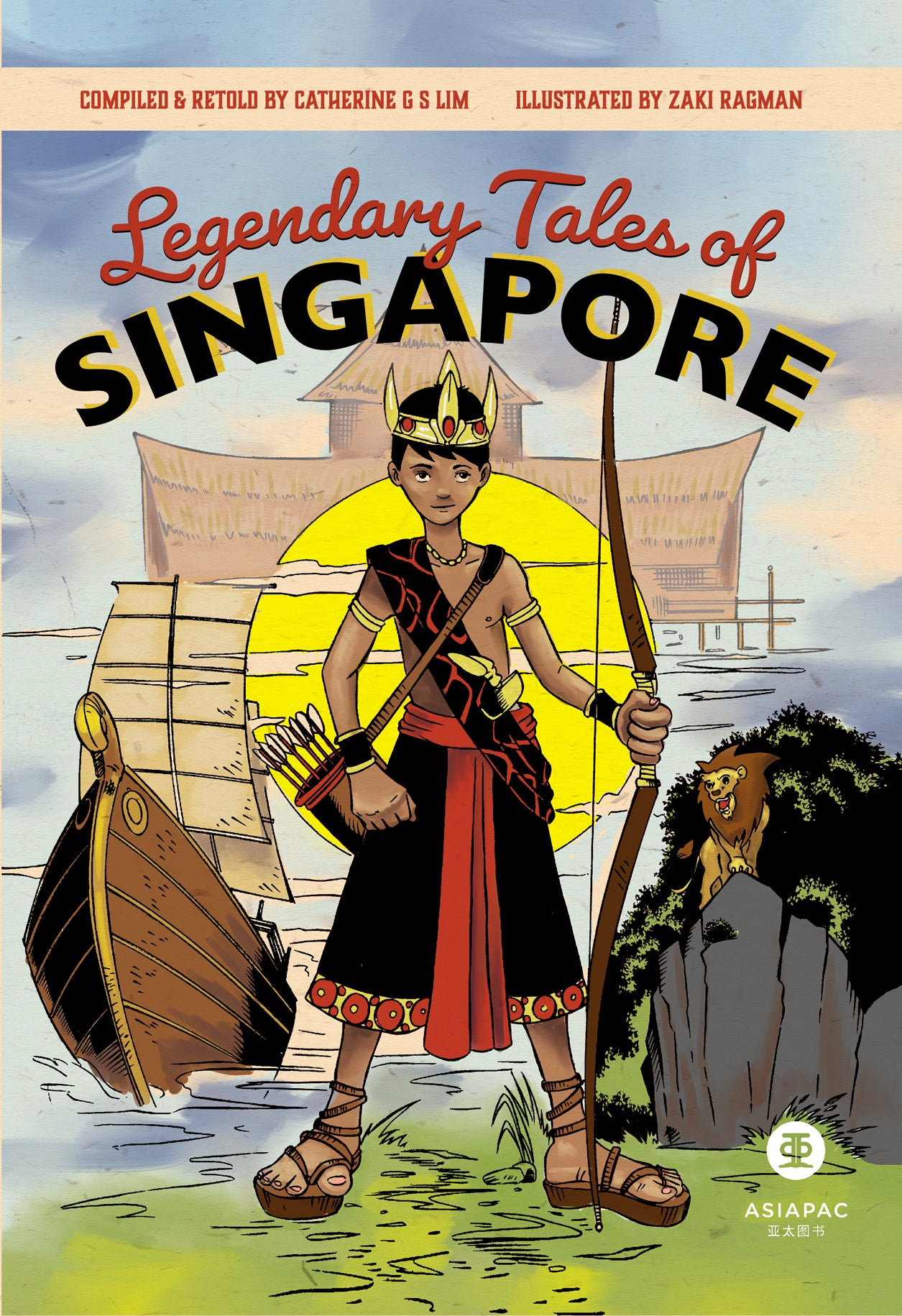 Legendary Tales of Singapore (updated cover)