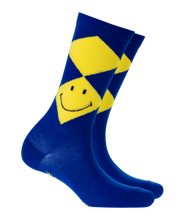 Laden Sie das Bild in den Galerie-Viewer, Burlington Smiley Argyle Damen Socken