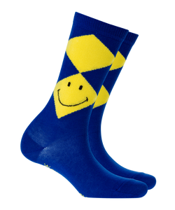 Burlington Smiley Argyle Damen Socken