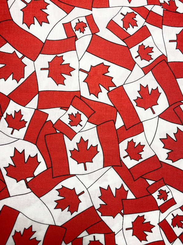 Canada Flag - Handmade Cotton Reusable Face-Mask