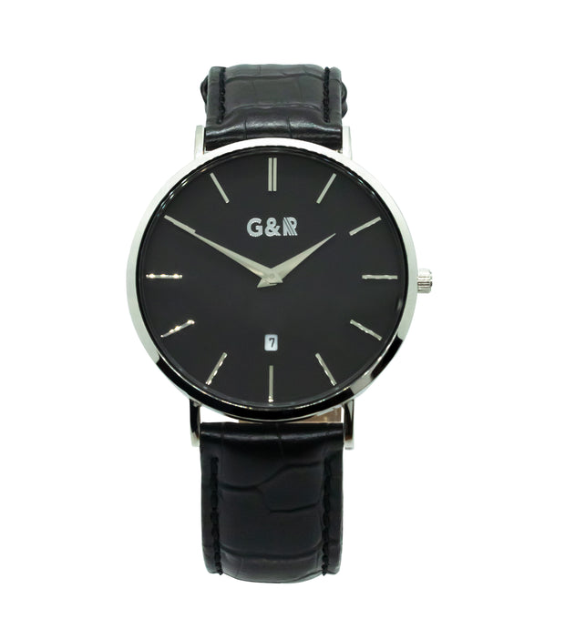 Stansted Silver Leather - G&R Apparel