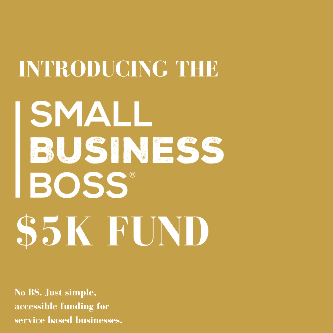 Small Business Boss Fund empowered by Scoops Studios