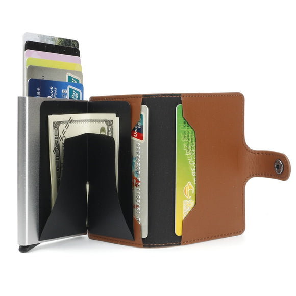 RFID Blocking Vintage Bussiness Wallet