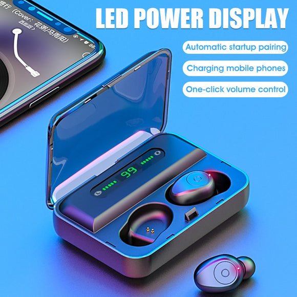 Waterproof Digital Display Wireless Headset