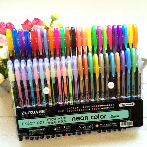 Gel Pen Set (Up to 48 Color)