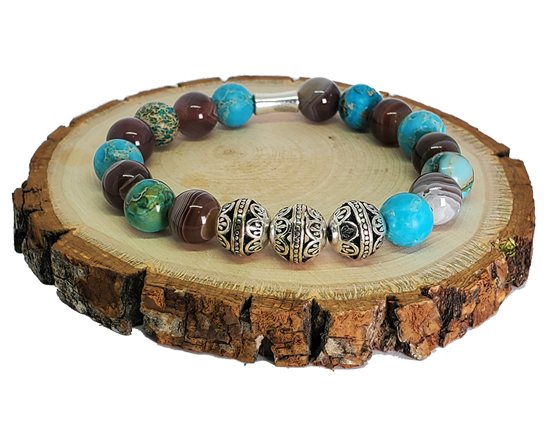 MARCAVI AQUA MIX BRACELET - Men of Zen