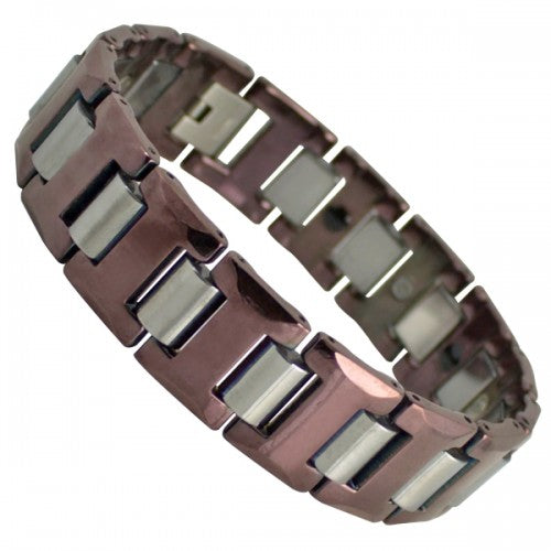 Tungsten Carbide Magnetic Bracelet