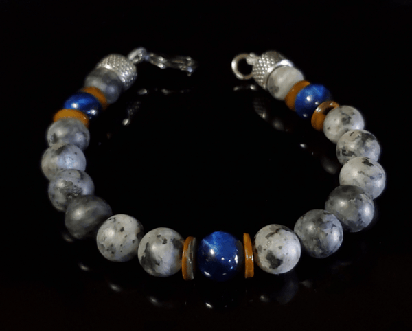 LUX MARCAVI DEEP BLUE BRACELET - Men of Zen