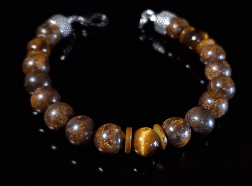 LUX MARCAVI MYSTIC FIRE BRACELET - Men of Zen