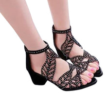 Load image into Gallery viewer, Women Sandals High Heel Casual Shoes  XWZ4486
