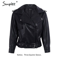Load image into Gallery viewer, Ladies Leather Jacket