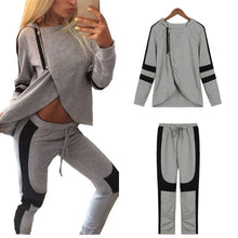 Load image into Gallery viewer, Ladies  Casual  Sweatshirt &  Pants